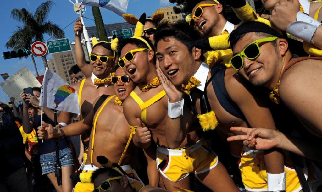 Olimpiadi estive porno gay
